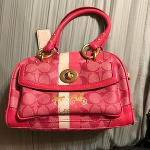 Coach Signature Collection Purse, Pink, Small